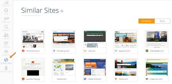 Similar Site Similar Web